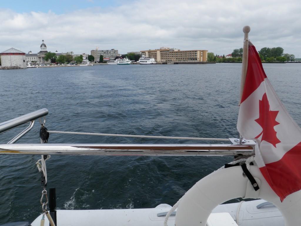 Farewell Kingston.....