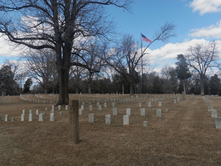 In Tennessee we visited the site of the Battle of Shiloh , where almost 24,000 Union and Confederate soldiers were lost over two days of battle; a very sad and moving place.