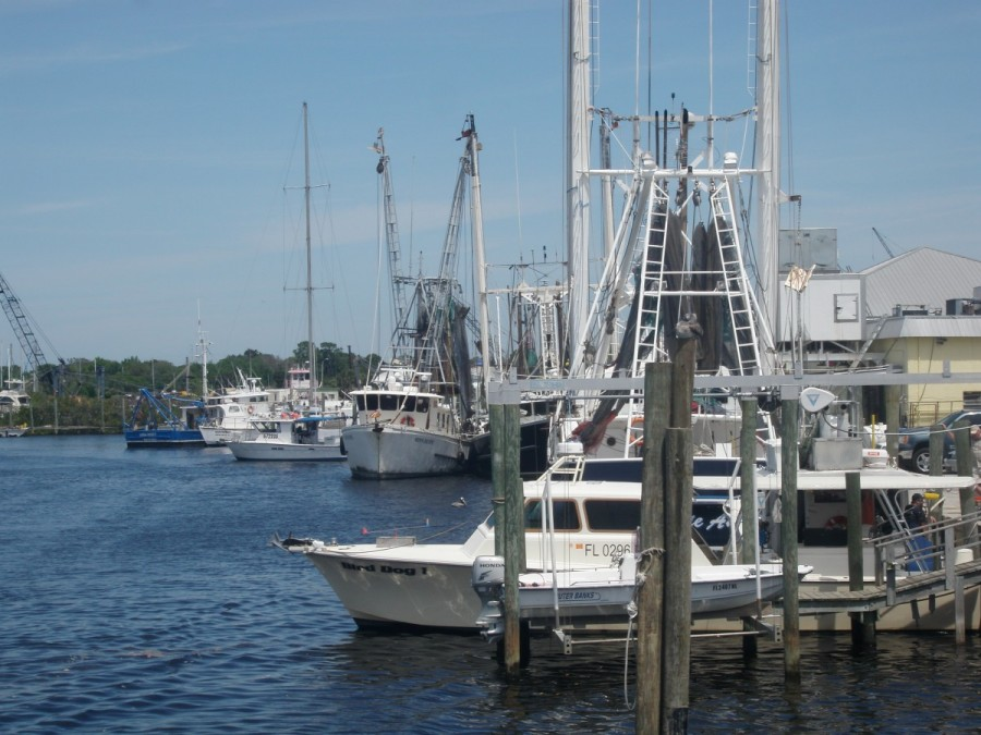 Tarpon Springs waterfront district.