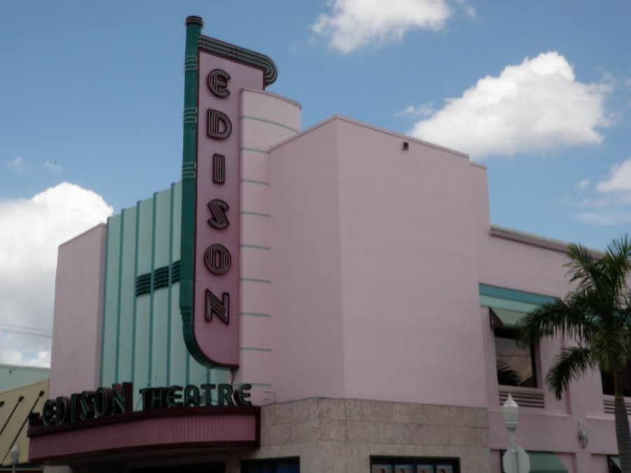 Fort Myers is a popular wintering stop for Loopers and Canadian and American snowbirds; Edison's influence can be found everywhere (alas, this wonderful art deco theatre is now houses a lawyer's office).