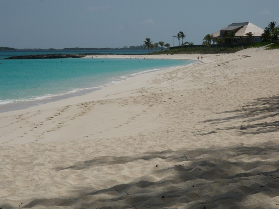 .....and a bike ride to spend the afternoon at beautiful Cabbage Beach on Paradise Island.