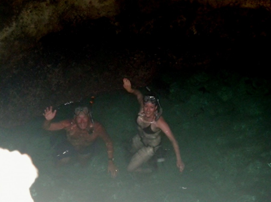 ......and another great round of snorkeling at Thunderball Grotto.