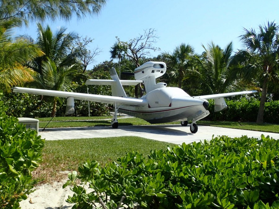 Hey Ryan, how about one of these for you to fly us down to the boat?