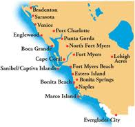 Florida's southwest coast - we traveled s far north as Sarasota.