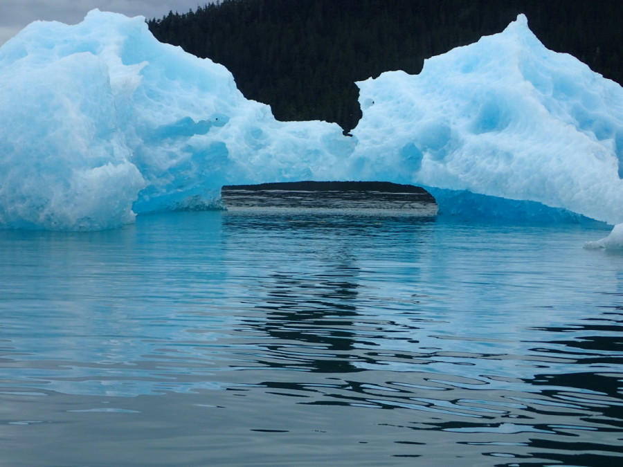 Revisiting Tracey Arm with Vanessa, the icebergs were bigger than ever.